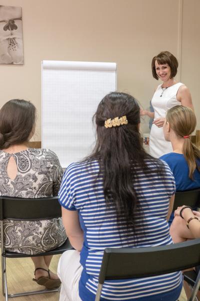 фото с курса для психологов  по работе с пищевыми нарушениями 2